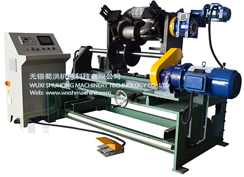 3D wound core transformer coil winding machine